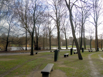 Oosterpark in Amsterdam
