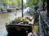 Houseboatmuseum in Amsterdam